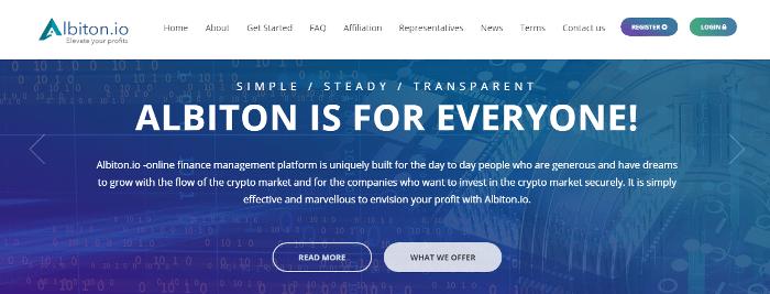Обзор проекта Albiton