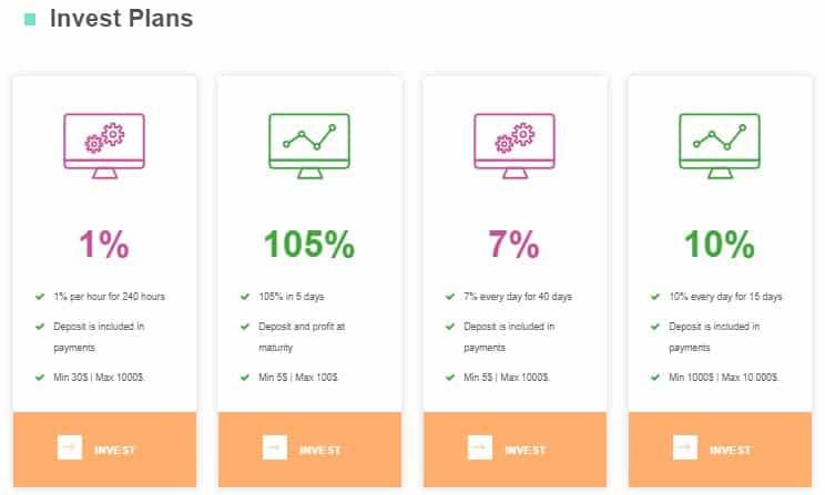 Инвестиционные тарифы в Ovation