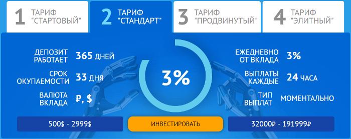 Инвестиционные планы проекта Alpha Intelect