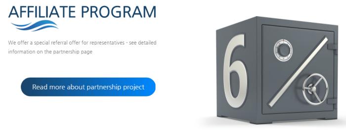 Партнерская программа проекта Zinance