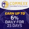 Přehled projektu Commexx