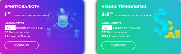 Инвестиционные планы проекта Zytre Investment