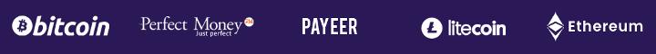 Платежные системы проекта Creckino
