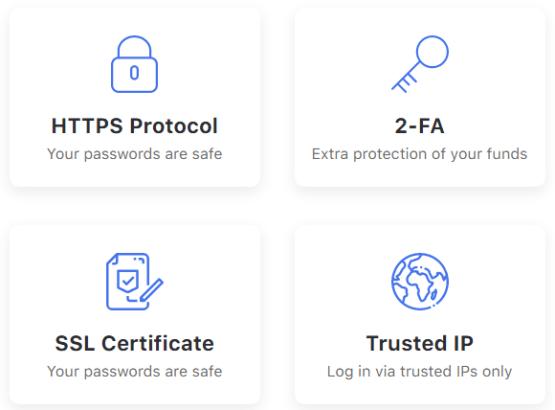 Безопасность в проекте Plisio