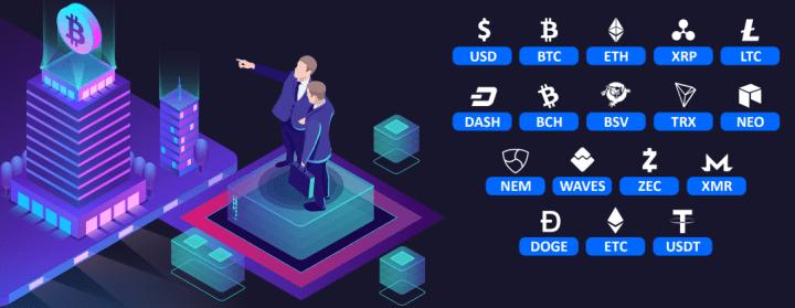 Платежные системы проекта Bitles