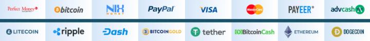 Платежные системы проекта Keeper Money