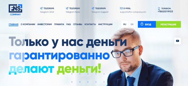 Обзор проекта FNS Company