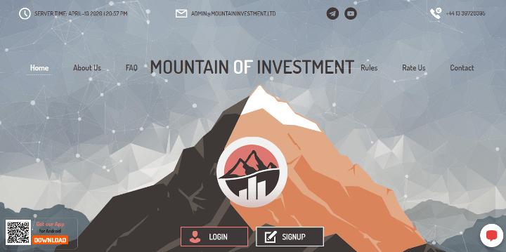 Обзор проекта Mountain Investment