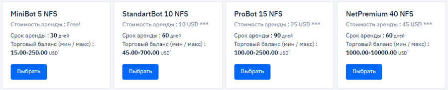 Deeptrade Bot project investment plans