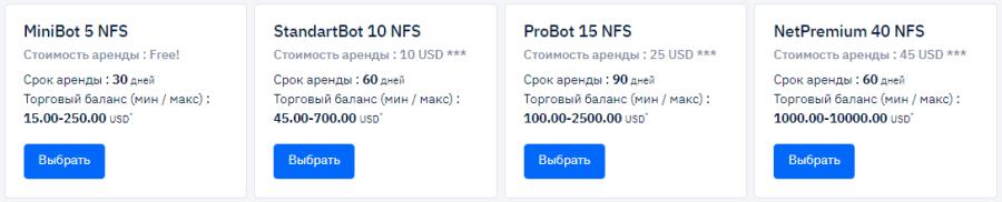 Инвестиционные планы проекта Deeptrade Bot