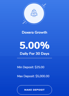 Doxera Project Investment Plan