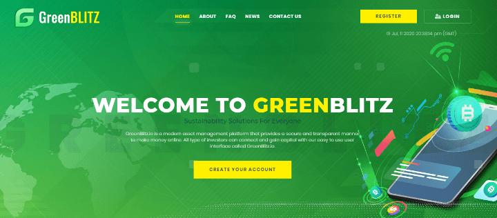 Обзор проекта Green Blitz