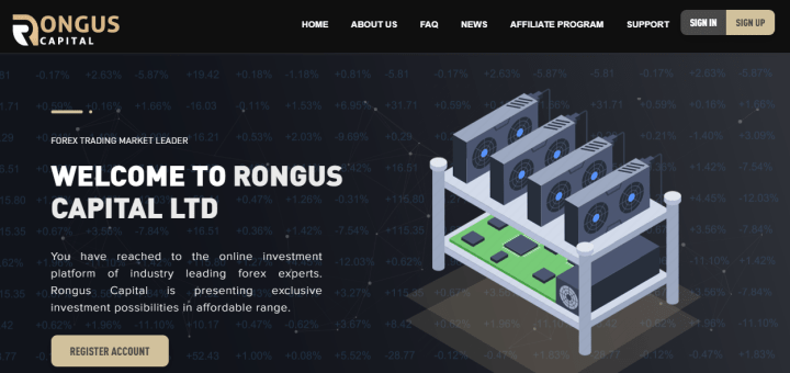 Обзор проекта Rongus Capital