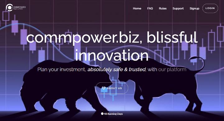 Обзор проекта Commpower