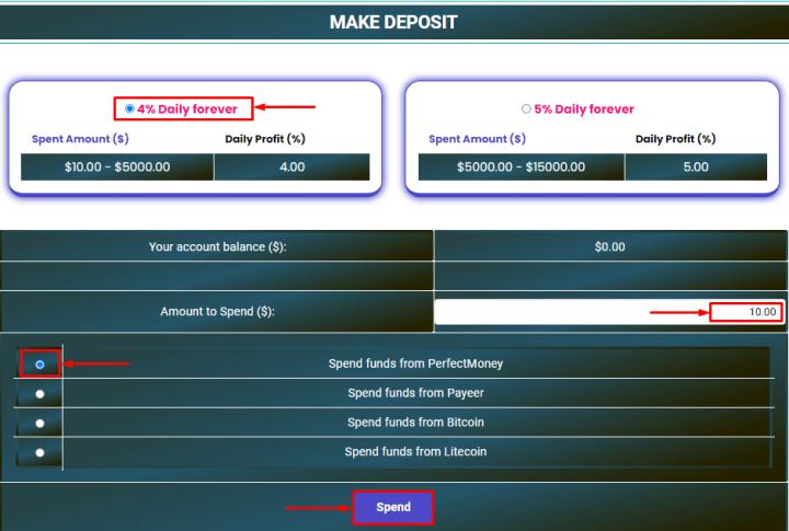 Making a deposit in the Finexgen project