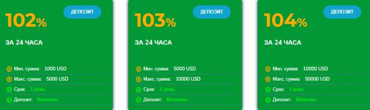 Инвестиционные планы проекта Bitinter
