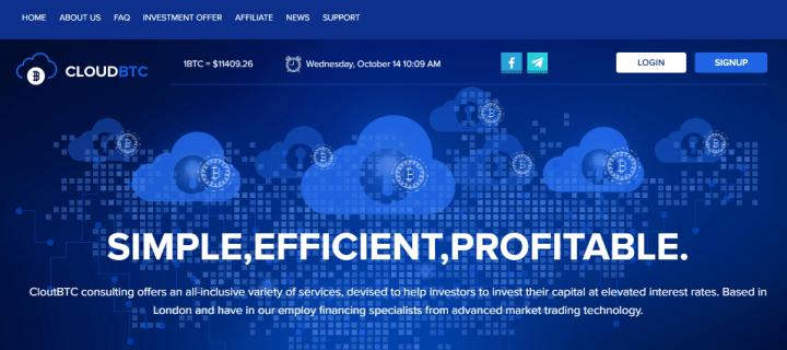 Обзор проекта CloudBTC
