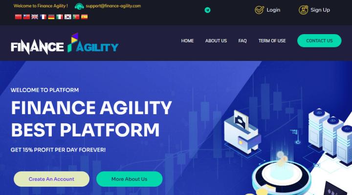Обзор проекта Finance Agility