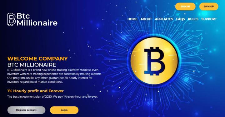 Обзор проекта BTC Millionaire