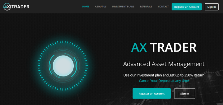 Обзор проекта AX Trader