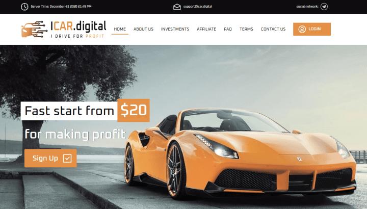 Обзор проекта Icar Digital