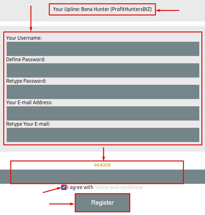 Регистрация в проекте Icar Digital