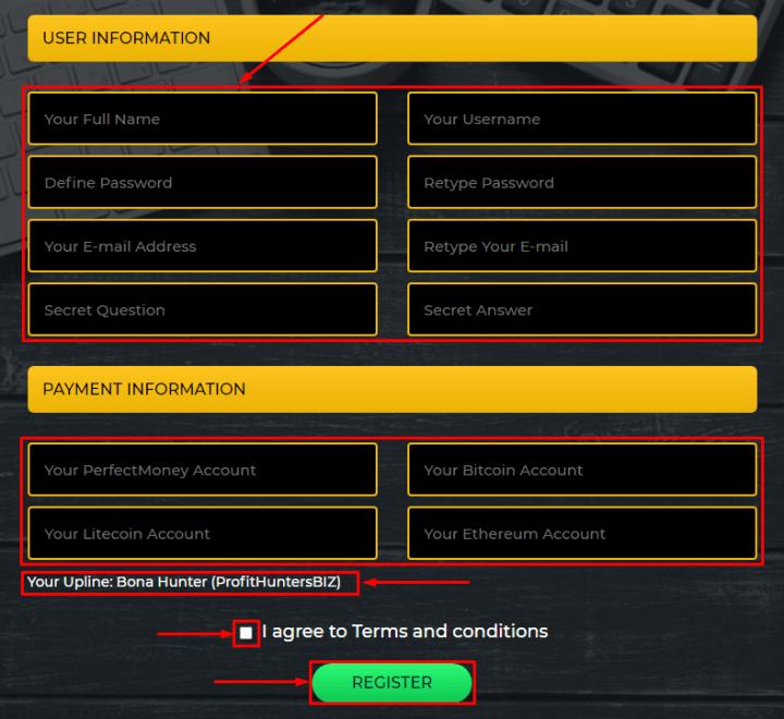 Регистрация в проекте Smartcoin