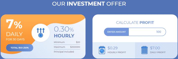 Инвестиционный план проекта Crypticy