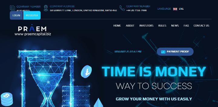 Обзор проекта Praem Capital