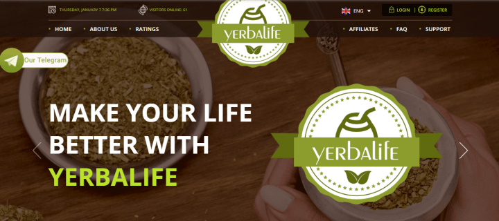 Обзор проекта Yerbalife