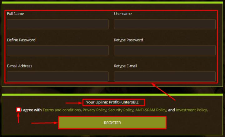 Регистрация в проекте Yerbalife