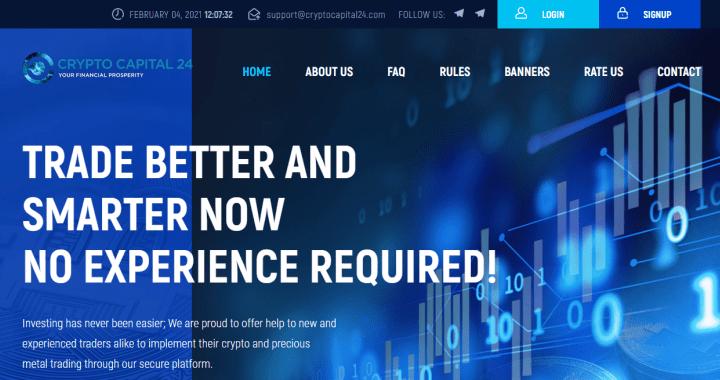 Обзор проекта CryptoCapital24