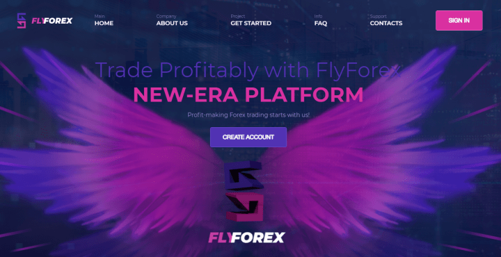 Обзор проекта FlyForex