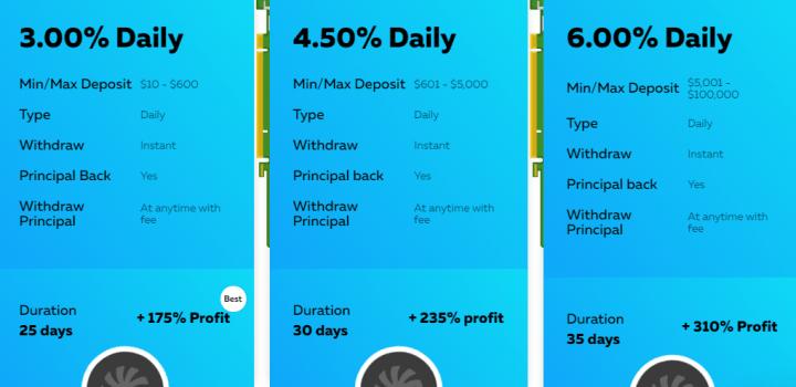 Инвестиционные планы проекта Minero