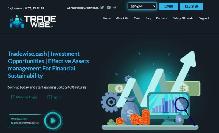 Обзор проекта Tradewise