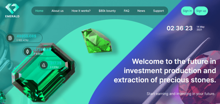 Emerald-inv project overview