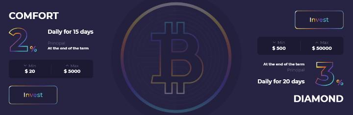 Инвестиционные планы проекта BitLegion