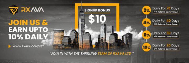 Инвестиционные планы проекта Rxava Ltd