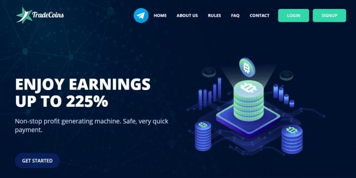 Обзор проекта TradeCoins
