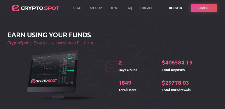 Обзор проекта Crypto Spot