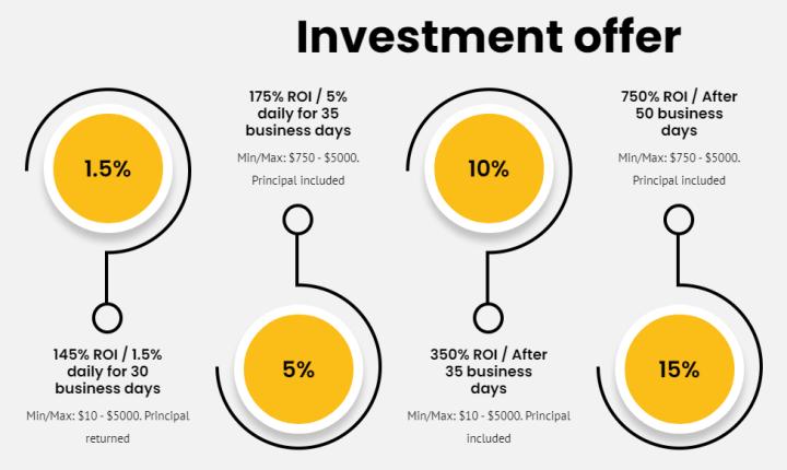 Инвестиционные планы проекта Proxima 8