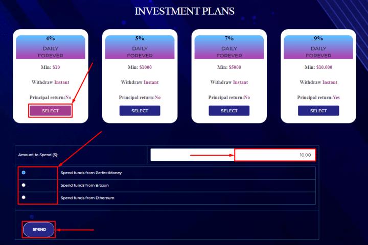 Создание депозита в проекте Exfo Ltd