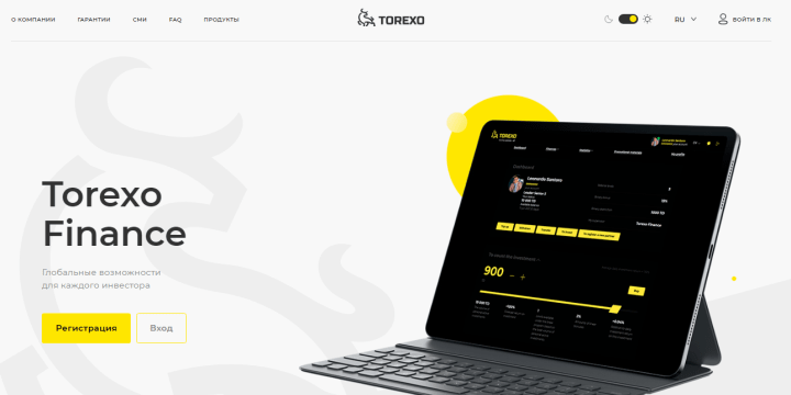 Przegląd projektu Torexo