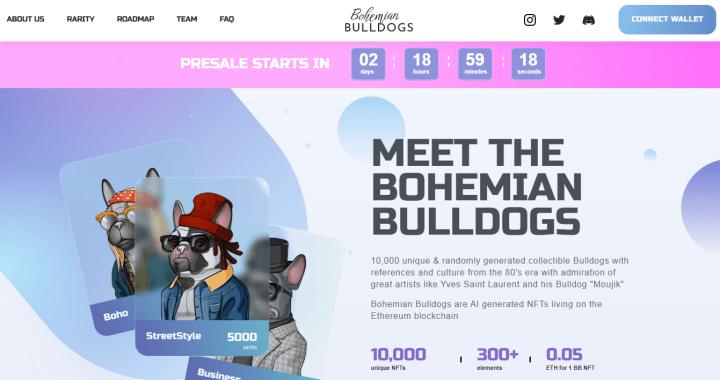 Обзор NFT-проекта Bohemian Bulldogs