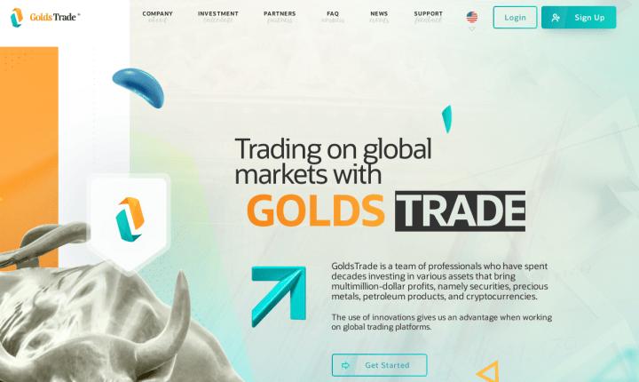 Обзор проекта Golds Trade