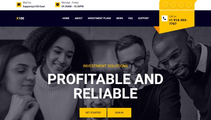 Обзор проекта X100 Fund